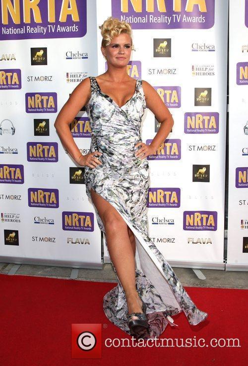 Kerry Katona The National Reality Television Awards 2011...
