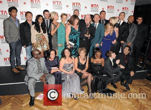 Cast of Eastenders,  The National Television Awards...