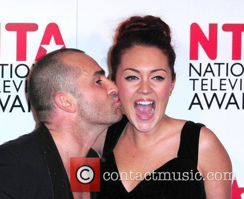 Louie Spence and Lacey Turner
