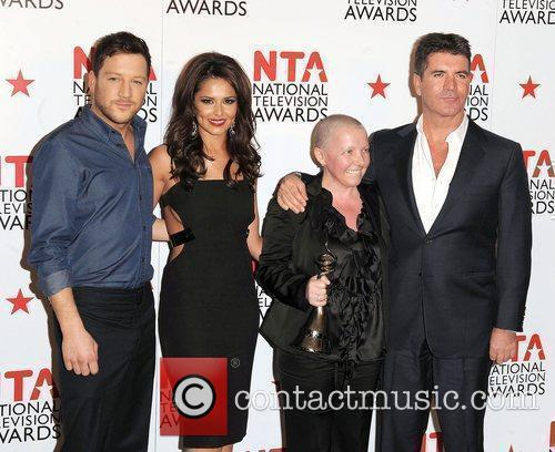 Matt Cardle, Cheryl Tweedy and Simon Cowell 2