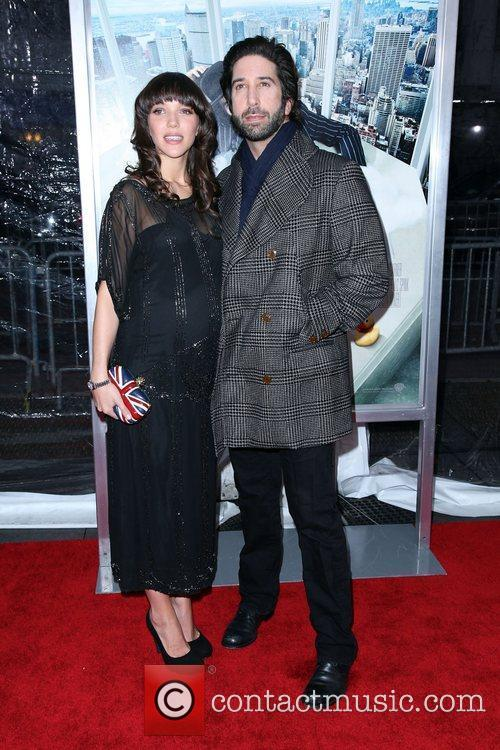 David Schwimmer and Zoe Buckman 2