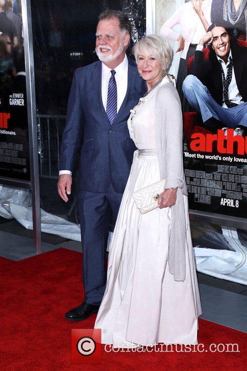 Taylor Hackford and Helen Mirren 2