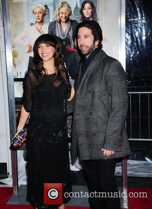 David Schwimmer and Zoe Buckman 5