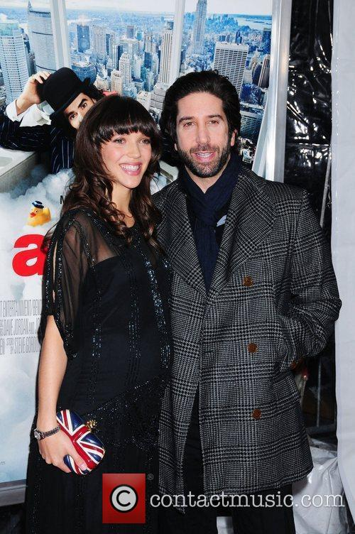 David Schwimmer and Zoe Buckman 3