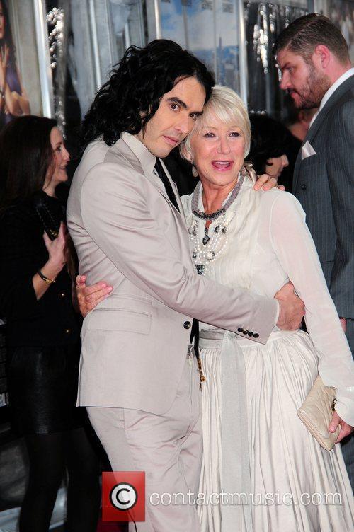 Russell Brand and Helen Mirren New York premiere...