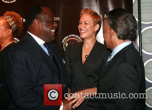 Dr. W. Franklyn Richardson, Tonya Lee and Reverend...