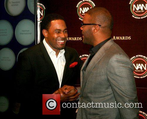 Lamman Rucker and Tyler Perry 2