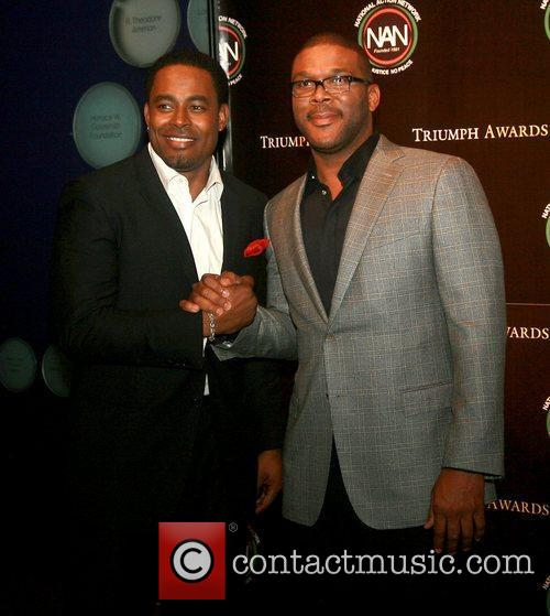 Lamman Rucker and Tyler Perry 1