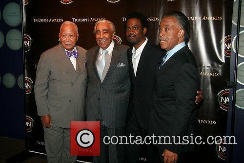 Mayor David N. Dinkins, Joe, Congressman Charles Rangel,...
