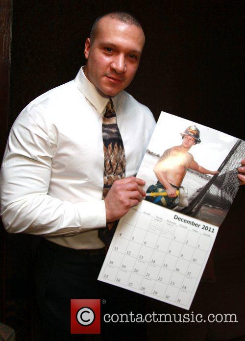 Chris Gonzalez of Ladder 21 NYC's Bravest at...