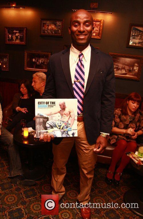 Michael Jimenez of Ladder 33 NYC's Bravest at...