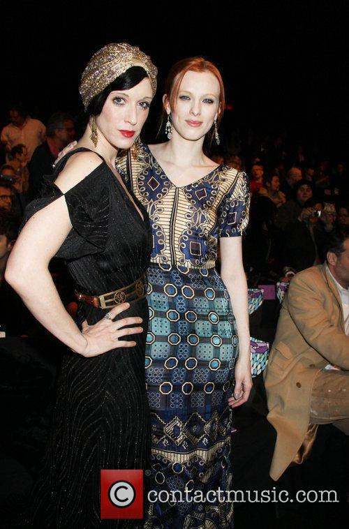Sarah Sophie Flicker and Karen Elson 5