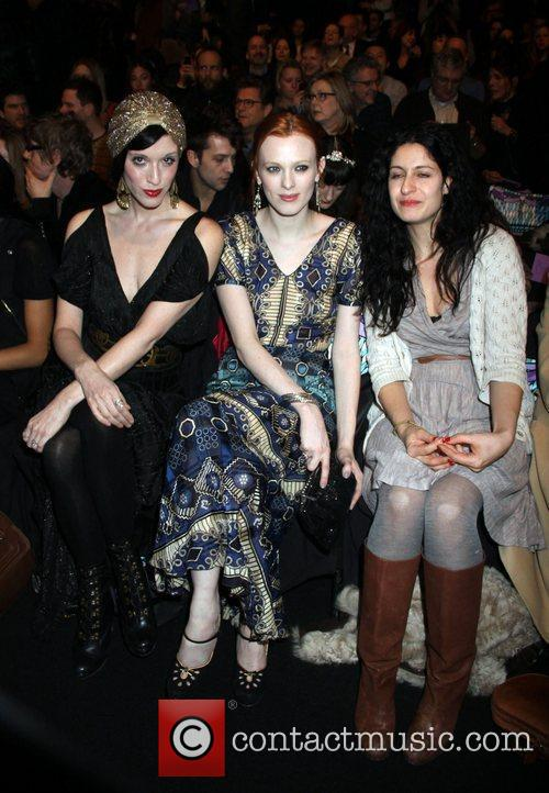Sarah Sophie Flicker and Karen Elson 2