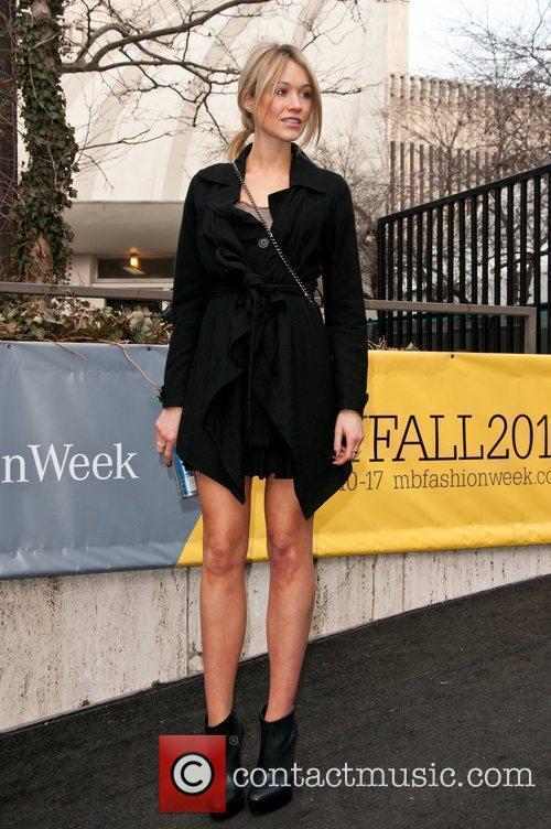 Katrina Bowden Mercedes-Benz IMG New York Fashion Week...