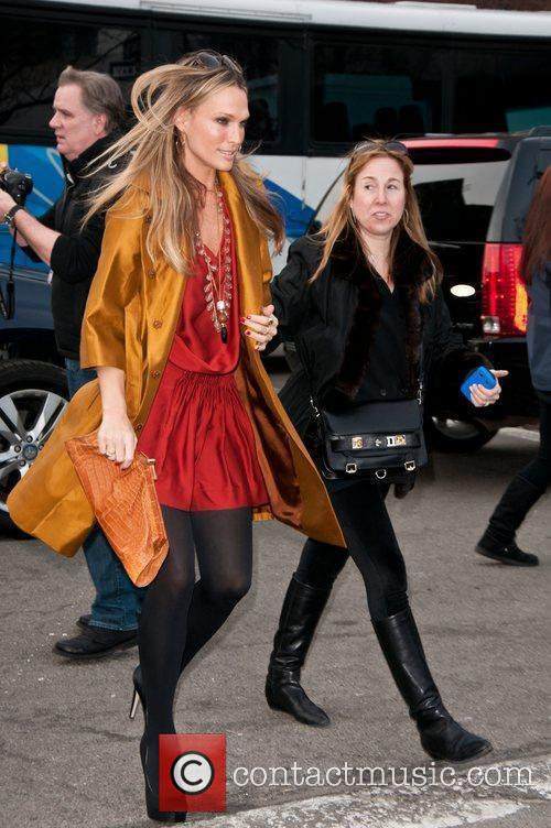 Molly Sims Mercedes-Benz IMG New York Fashion Week...