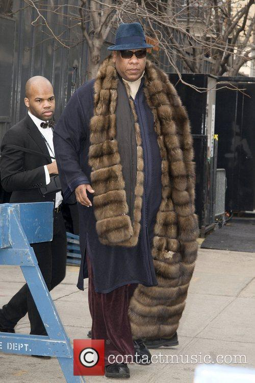 Andre Leon Talley,  Mercedes-Benz IMG New York...