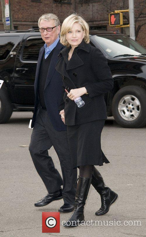 Diane Sawyer and Mike Nichols,  Mercedes-Benz IMG...