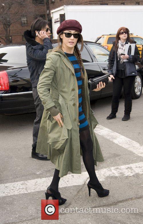 Maggie Q,  Mercedes-Benz IMG New York Fashion...