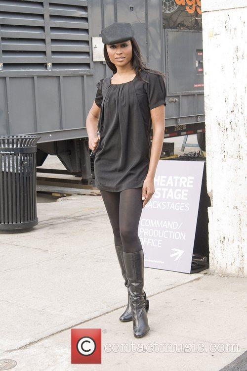 Cynthia Bailey Mercedes-Benz IMG New York Fashion Week...
