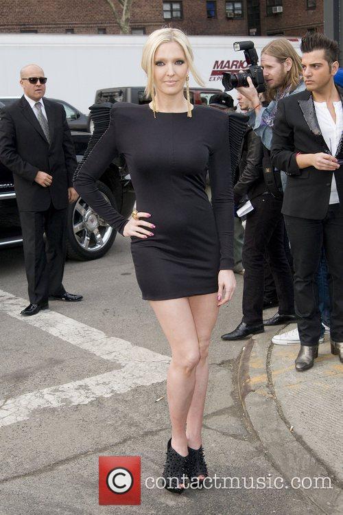 Erika Jayne Mercedes-Benz IMG New York Fashion Week...