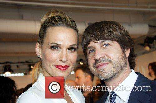 Molly Sims and Rodger Berman New York Mercedes-Benz...