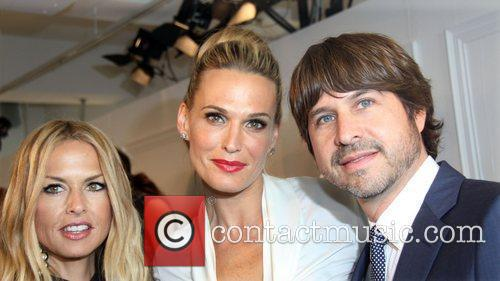 Rachel Zoe, Molly Sims and Rodger Berman New...