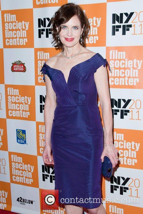Elizabeth McGovern at the 49th Annual New York...
