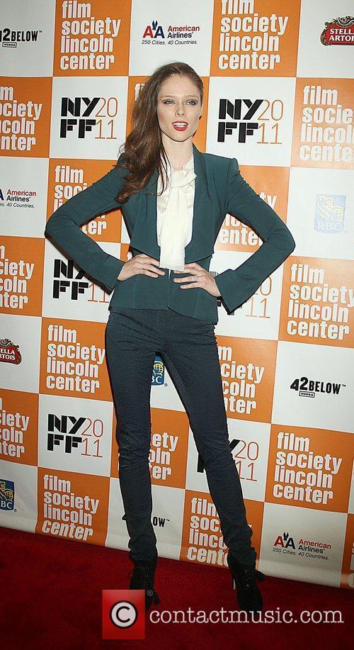 Coco Rocha 49th Annual New York Film Festival...