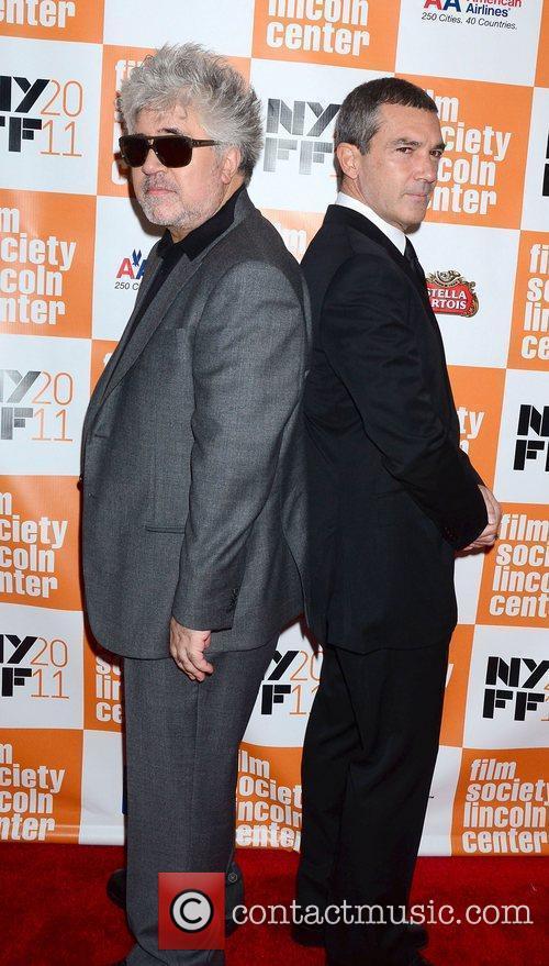 Pedro Almodovar and Antonio Banderas at the 49th...