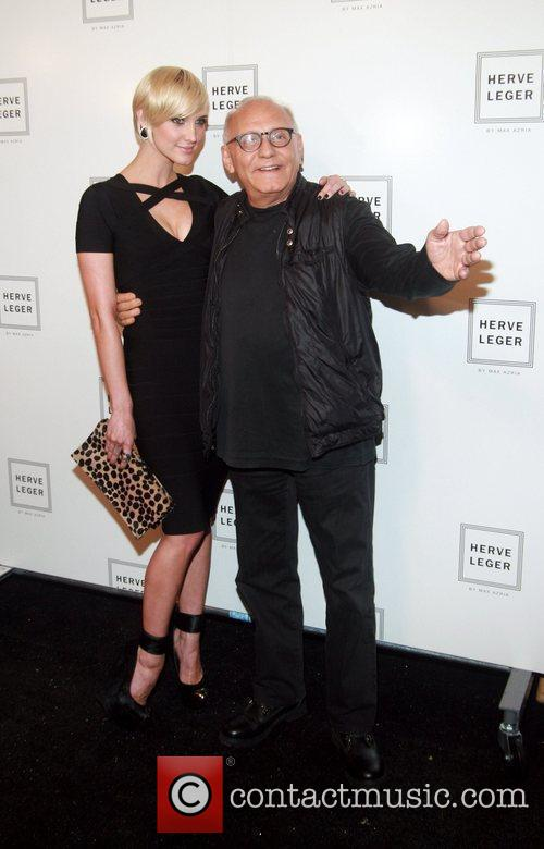 Ashlee Simpson and Max Azria 2