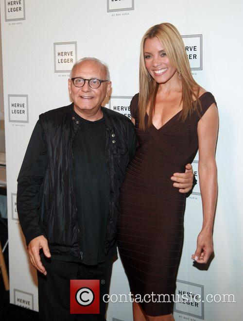 Max Azria and Michael Michele Mercedes-Benz Fashion Week...