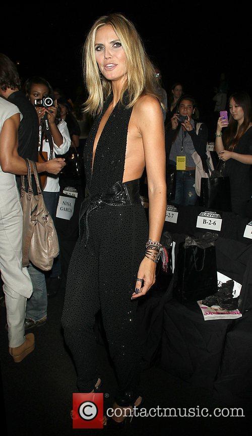 Heidi Klum and New York Fashion Week 2