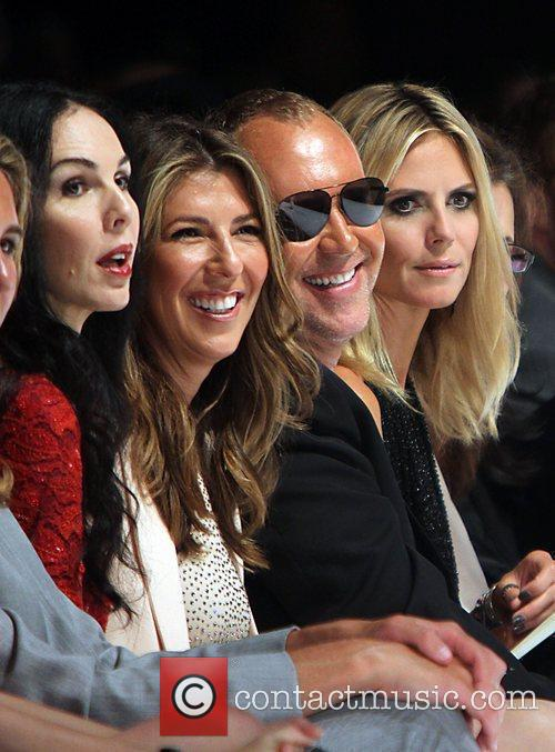 L'Wren Scott, Heidi Klum, Michael Kors, Nina Garcia, New York Fashion Week