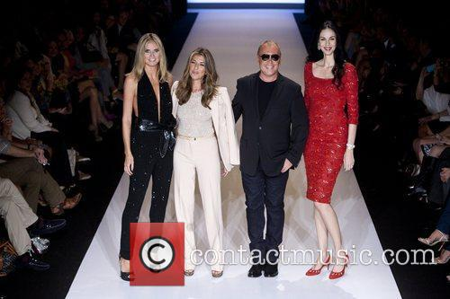 Heidi Klum, L'wren Scott, Michael Kors and Nina Garcia 3