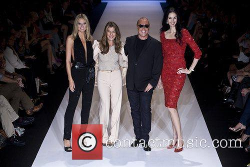 Heidi Klum, L'wren Scott, Michael Kors and Nina Garcia 2