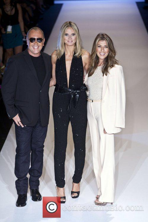 Michael Kors, Heidi Klum and Nina Garcia 3