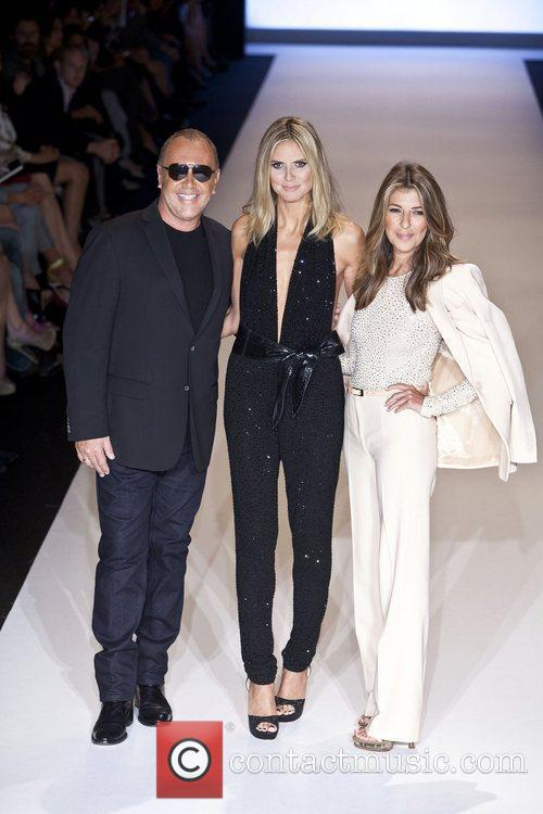 Michael Kors, Heidi Klum and Nina Garcia 4