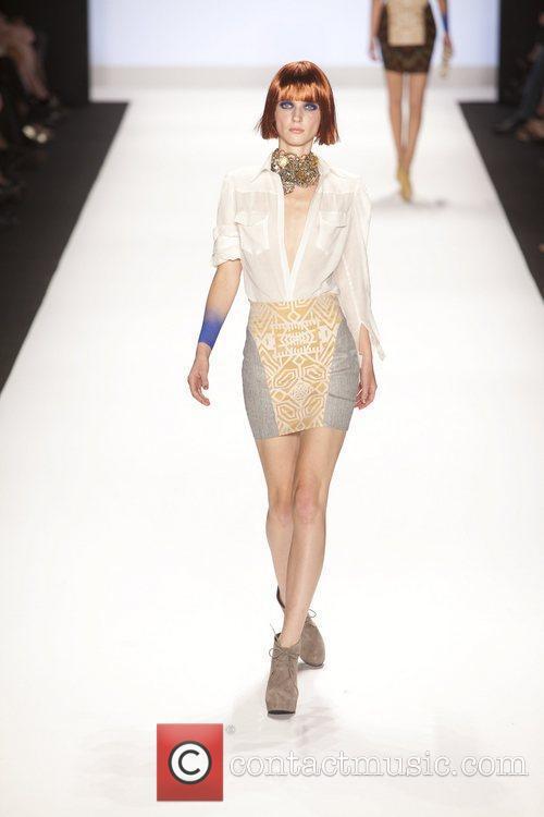 Model, Michael Kors, New York Fashion Week