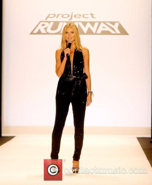 Heidi Klum and New York Fashion Week 9