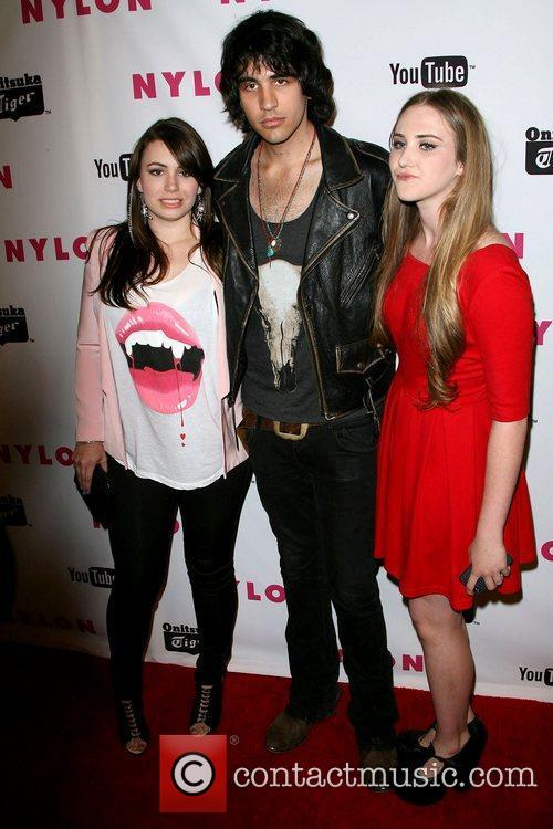 Sophie Simmons and Nick Simmons NYLON Magazine annual...