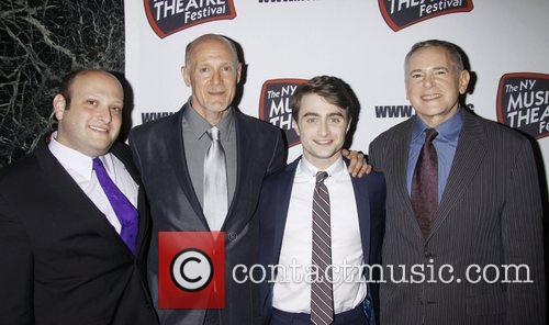 Daniel Radcliffe, Craig Zadan and The Hudson Theatre 6