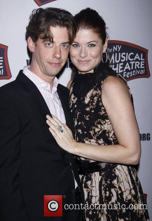 Christian Borle, Debra Messing and The Hudson Theatre 4