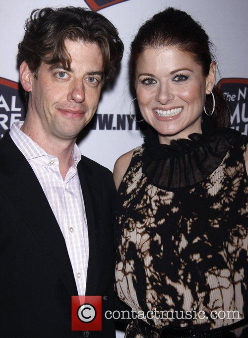 Christian Borle, Debra Messing and The Hudson Theatre 3