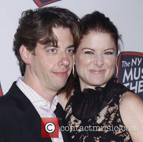 Christian Borle, Debra Messing and The Hudson Theatre 2