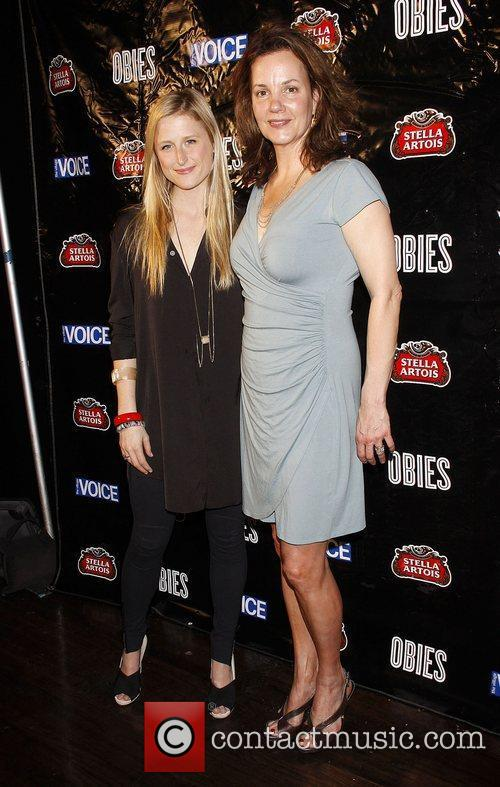 Mamie Gummer and Margaret Colin 1