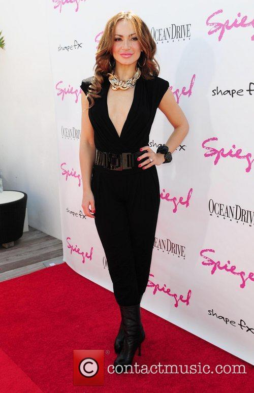 Ocean Drive Magazine party held at the Gansevoort...