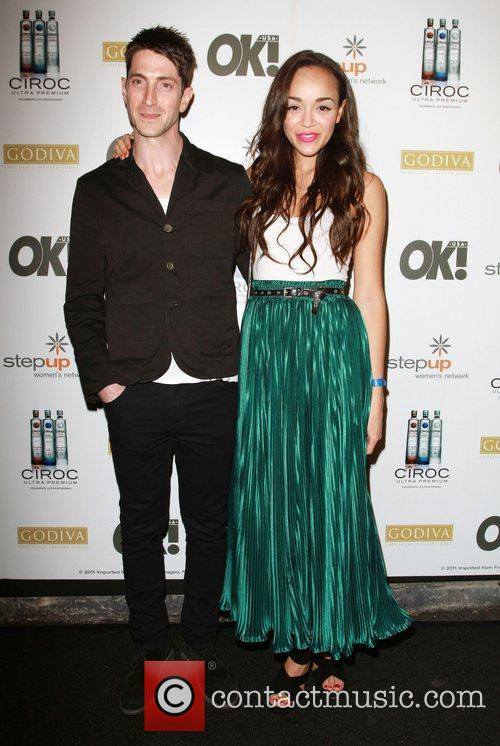 Ashley Madekwe and Guest Ciroc Vodka, OK! Magazine...