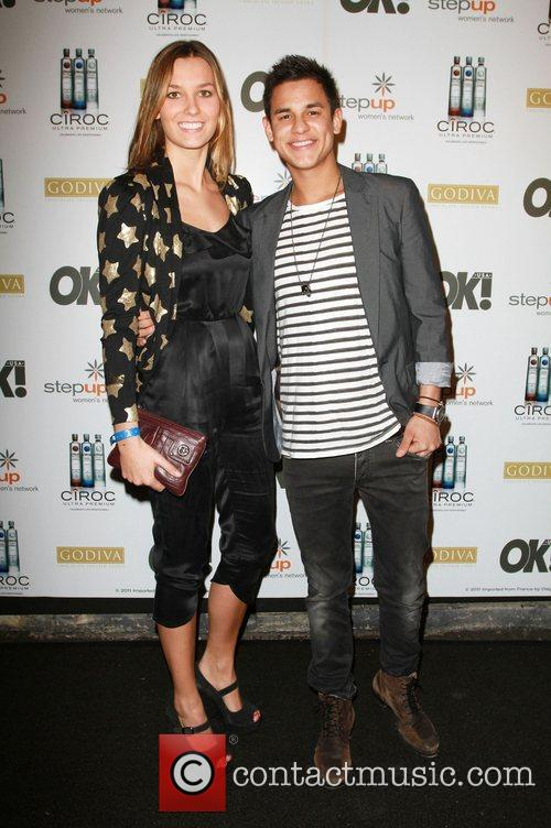Bronson Pelletier and Girlfriend Sabine Ciroc Vodka, OK!...