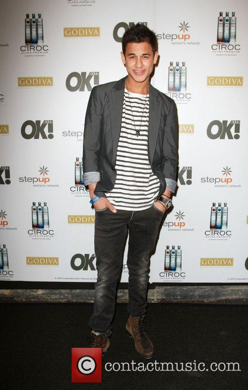 Bronson Pelletier Ciroc Vodka, OK! Magazine & Step...