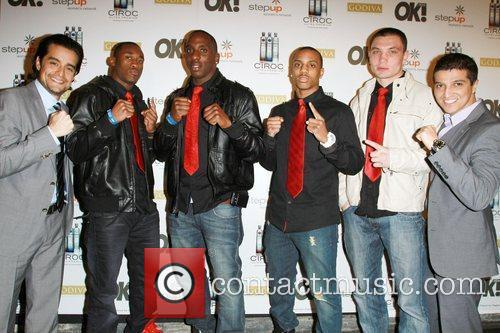 LA Matadors Boxing team Ciroc Vodka, OK! Magazine...